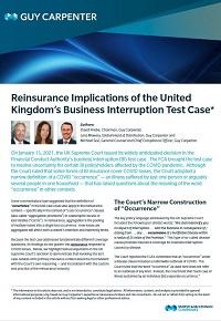 reinsurance uk test case pdf