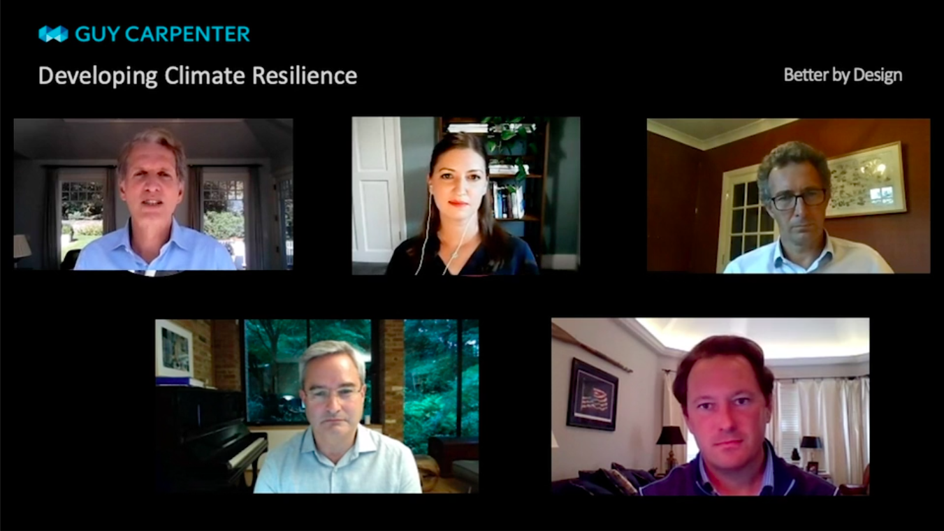 screen grab of developing climate resiliency video