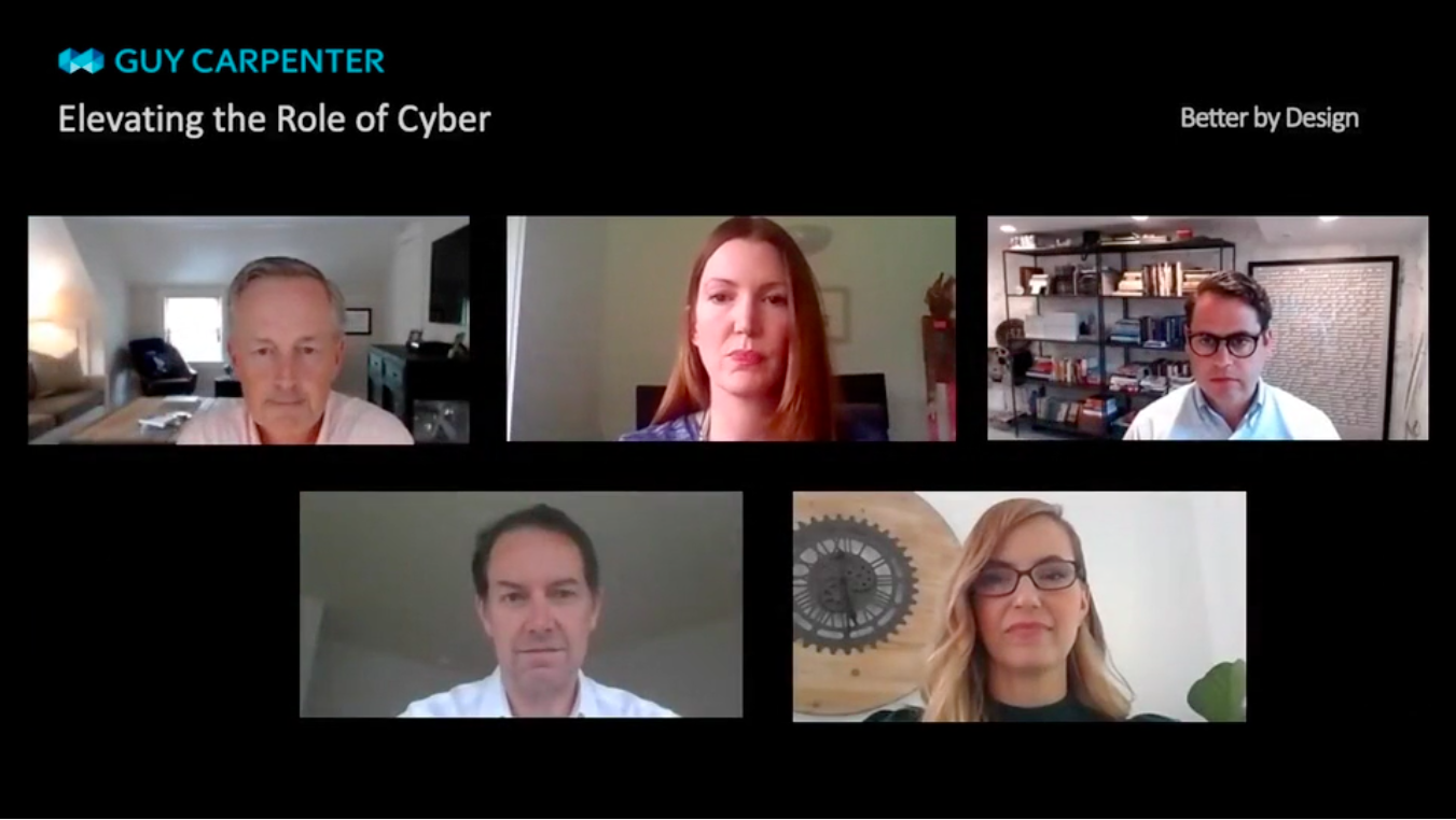 screen grab of elevating the role of cyber video